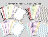 Chevron Frames and Backgrounds