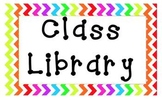 Chevron A to Z Class Library