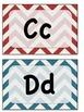 Chevron ABC Wall Letters