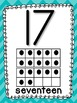 Chevron ABC and Number Line