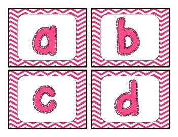 Chevron ABC cards