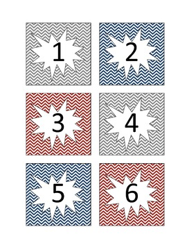 Chevron A.R. Numbers