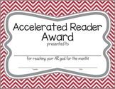 Chevron Accelerated Reader Award