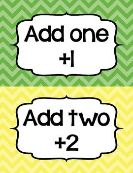 Addition Fluency Clip Chart in Chevron (Supports Common Core Fluency Standards!)