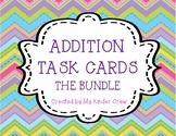 Chevron Addition Task Cards BUNDLE