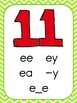 Chevron Alphabet Cards with Long Vowel Patterns