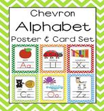 Chevron Alphabet Poster (8.5 x 11 and 5x7) Sound Pack