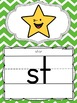 Alphabet Posters and Bunting {Primary Colors Chevron Class
