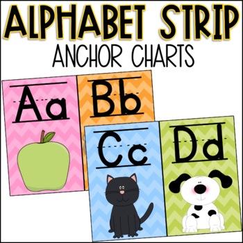 Chevron Alphabet Strip