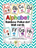 Chevron Alphabet Wall Cards