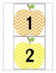 Chevron Apple Growing Number Line