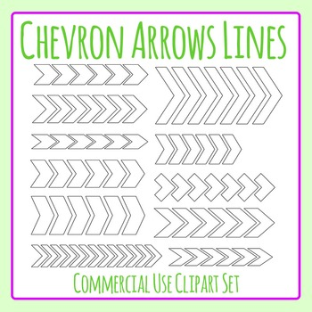 Chevron Arrow Lines Variety Clip Art Commercial Use