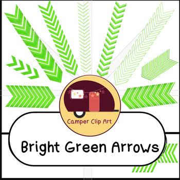 Chevron Arrows, Bright Green {CU - Commercial Use ok!}