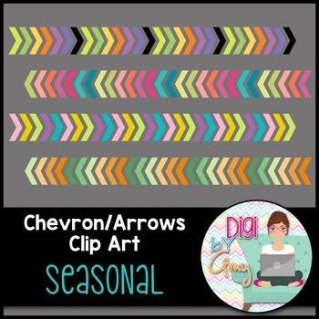 Chevron Arrows Clip Art Holiday