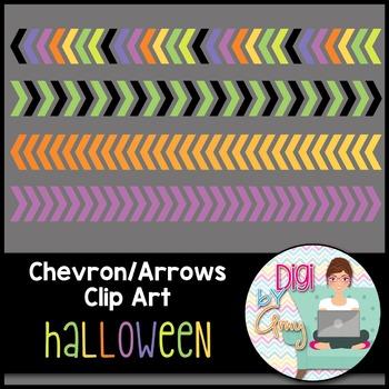 Chevron - Arrows Clip Art - Halloween