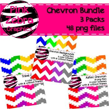 Chevron Background Bundle