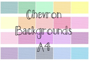 Chevron Backgrounds 2 (Double Lines)