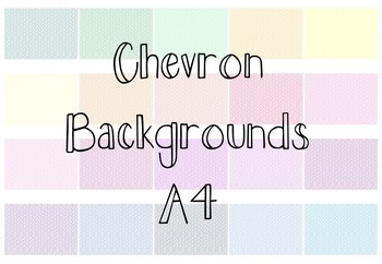 Chevron Backgrounds 3 (Thin)