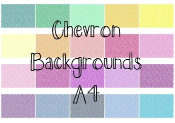 Chevron Backgrounds (Thick)