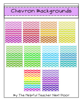 Chevron Backgrounds Ombre Style
