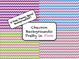 Chevron Backgrounds: Pretty in Pink