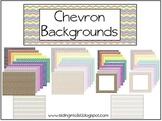 Chevron Backgrounds {clipart}