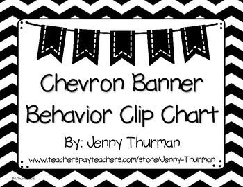 Chevron Banner Behavior Clip Chart