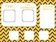 Chevron Basics Token Boards 3&5 piece! For Special Education / Autism