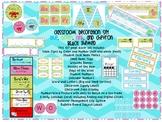 Chevron Beach Themed Classroom Decor Set