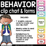 Behavior Chart and Forms-Classroom Use