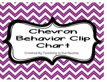 Chevron Behavior Clip Chart