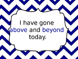 Chevron Behavior Clip Chart EDITABLE