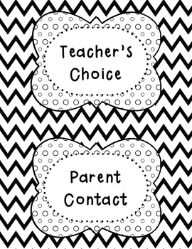 Chevron Behavior Clip Chart Posters