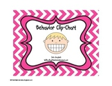 Chevron Behavior Clip-chart with Behavior Calendar