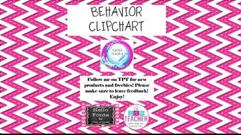 Chevron Behavior Clipchart