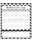 Chevron Behavior Log