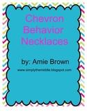 Chevron Behavior Reward Necklaces