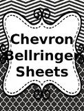 Chevron Bellringer Sheets