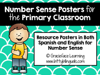 Number Sense Posters in Spanish and English