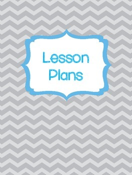 Chevron Binder Cover and Pages