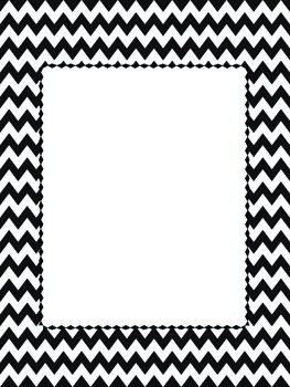Chevron Binder Covers