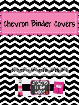 Chevron Binder Covers!