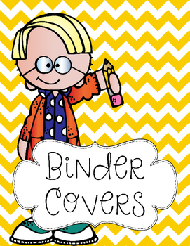 Chevron Binder Covers {Editable}