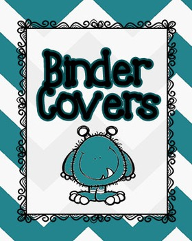 Chevron Binder Covers *FREEBIE*
