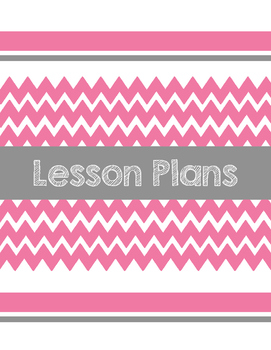 Chevron Binder Covers (Free)