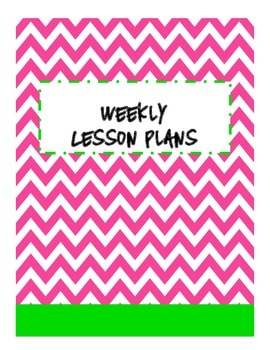 Teacher Binder Chevron Covers and Blank Labels