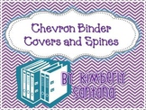 {Chevron} Binder Covers and Spine inserts