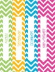 Chevron Binder Covers and Spines