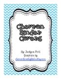 Chevron Binder Covers for Trendy Organization