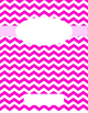 Chevron Binder Covers with Sides
